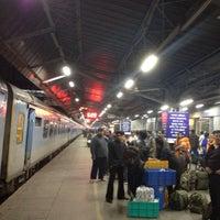 Photo taken at New Delhi Railway Station (NDLS) by Ricardo A. on 3/5/2013