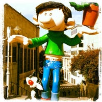 Photo taken at Belgian Comic Strip Center by Réda C. on 9/28/2012