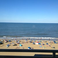 Photo taken at Holiday Inn Express & Suites Va Beach Oceanfront by Joe C. on 7/5/2014