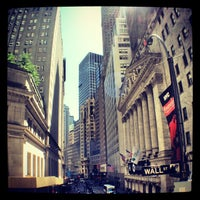 Photo taken at Wall Street by beetle T. on 6/7/2013