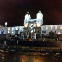 Photo taken at Iglesia de San francisco by Jorge B. on 12/25/2012