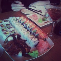 Photo taken at UCHU Sushi and Fried Chicken by Merrick M. on 6/25/2013