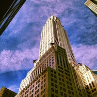 Photo taken at Chrysler Building by Katie L. on 9/19/2012