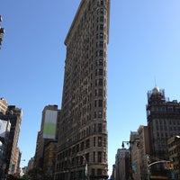 Photo taken at Flatiron Building by Artem on 5/12/2013