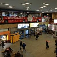 Photo taken at Autobusová stanica Mlynské nivy | Mlynské Nivy Bus Station by Majo S. on 12/19/2012