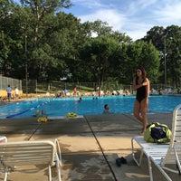 Photo taken at Upshur Swimming Pool by Just H. on 7/7/2016
