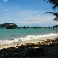 Photo taken at Manukan Island by Cik Puteriena ♛ on 5/25/2013