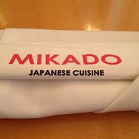 Photo taken at Mikado by Nichole on 10/27/2012