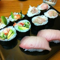 Photo taken at Hide Sushi by Mai T. on 10/6/2012