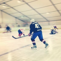 Photo taken at Ice Arena by Evi K. on 3/26/2013