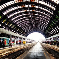 Photo taken at Stazione Milano Centrale by Mario D. on 5/17/2013