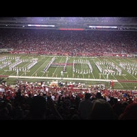 Photo taken at Donald W Reynolds Razorback Stadium by Kandi P. on 9/23/2012