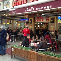 Photo taken at Simit Sarayı by A V N İ D. on 12/16/2012