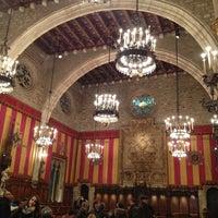 Photo taken at Ajuntament de Barcelona by Silvio Alino on 12/30/2012