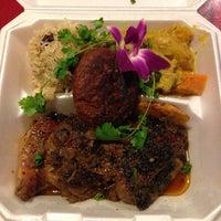 Photo taken at Jawaiian Irie Jerk Restaurant by Erin on 9/13/2013