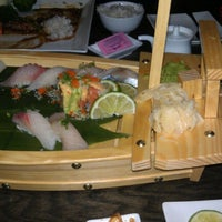 Photo taken at UMI Japanese Steakhouse & Sushi Bar by Ben W. on 1/29/2013