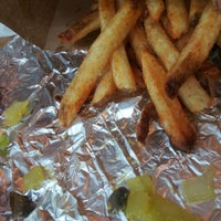 Photo taken at Five Guys by Terone on 9/16/2012