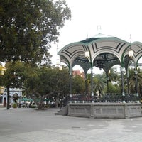 Photo taken at Parque San Telmo by Juan Carlos S. on 6/6/2013