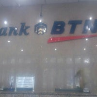 Photo taken at Bank BTN by Dion D. on 11/27/2015