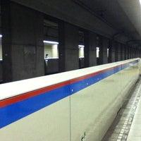 Photo taken at Shibakoen Station (I05) by yukaswim on 9/20/2012