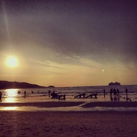Photo taken at Gay Beach Patong by Dyron Hunter M. on 1/31/2014