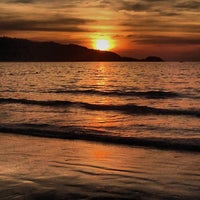 Photo taken at Gay Beach Patong by Dyron Hunter M. on 2/1/2014