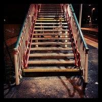 Photo taken at Flint Railway Station (FLN) by Tas W. on 2/26/2013