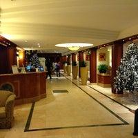 Photo taken at NH Hotel du Grand Sablon by Bom N. on 12/15/2012