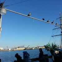 Photo taken at San Pedro Marina by Esteban S. on 1/1/2015