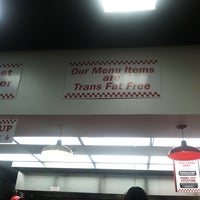 Photo taken at Five Guys by Jonathan A. on 11/11/2012