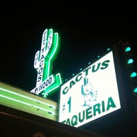 Photo taken at Cactus Mexican Food by Esteban S. on 9/27/2012