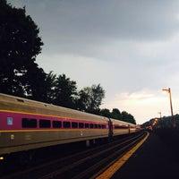 Photo taken at Newtonville MBTA Commuter Rail by Doug N. on 8/26/2014
