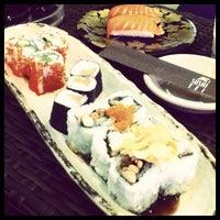 Photo taken at Sushi Kiosk! by Sushi Tei by Angga H. on 10/7/2012