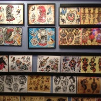 Photo taken at New York Hardcore Tattoos by Nani W. on 11/10/2012