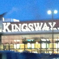 Photo taken at Kingsway Mall by Dana S. on 3/23/2013