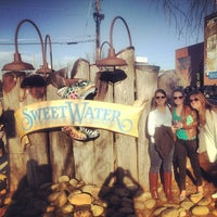 Photo taken at SweetWater Brewing Company by Dacey on 2/9/2013