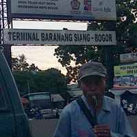 Photo taken at Terminal Baranangsiang by amos v. on 12/26/2012