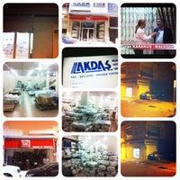 Photo taken at Akdaş Toptan Ltd.Şti by ABDULLAH K. on 12/24/2013