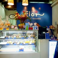 Photo taken at Flor Patisserie by Melodie L. on 11/1/2012