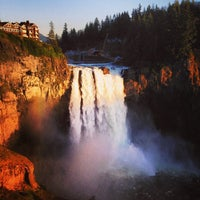 Photo taken at Snoqualmie Falls by Bryce R. on 4/1/2013