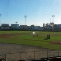 Photo taken at Estadio Kenny Serracín by Rogelio D. on 1/24/2014