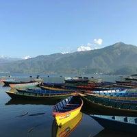 Photo taken at Phewa Tal / Fewa Lake by Misa M. on 6/21/2013