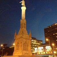 Photo taken at Plaza de Colón by Jordi on 4/12/2013