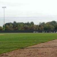 Photo taken at Heerenschuerli Baseball Stadium by Jan F. on 9/22/2013