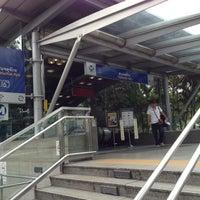 Photo taken at MRT Chatuchak Park (CHA) by Opapunn S. on 10/17/2012