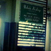 Photo taken at Bebek Kaleyo by Abbas R. on 3/4/2013