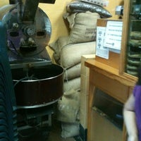 Photo taken at Café El Jarocho by Carlos H. on 10/4/2012