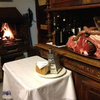 Photo taken at Osteria del Mirasole by Angelo on 2/21/2014