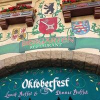 Photo taken at Biergarten Restaurant by Earl K. on 1/15/2013