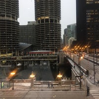 Photo taken at Chicago Water Taxi (Michigan) by Sandrine A. on 12/17/2016